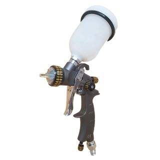 IWATA 2SPRAY GRAVITY MINI GUN 1.0MM & 1.2MM WITH 125ML POT