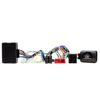 SWC HARNESS AUDI A3/A4/TT 01-08 AMP & SWC RETENSION(FULL BOSE AMPLIFIED)(MINI ISO)