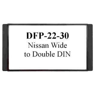 FITTING KIT NISSAN WIDE 200MM DOUBLE DIN