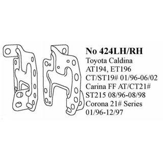 CALDINA 19O SER 96-02 CORONA 210 SER 96-98