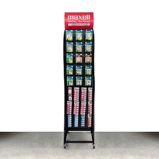 MAXELL BATTERY FLOOR STAND LARGE