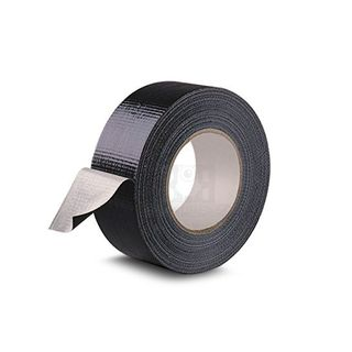 DUCT TAPE ROLL 48MM X 25 METER BLACK