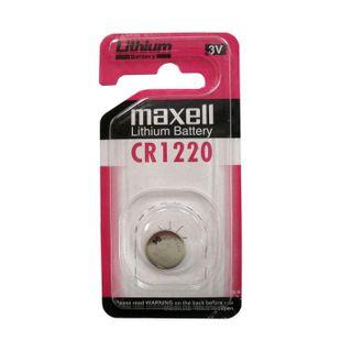 MAXELL LITHIUM BATT CR1220 3V SINGLE BLISTER