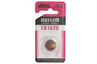 MAXELL LITHIUM BATT CR1620 3V SINGLE BLISTER