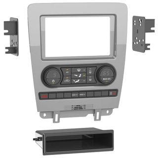 FITTING KIT FORD MUSTANG 2010 - 2014 SINGLE ZONE MANUAL CLIMATE DIN & DOUBLE DIN