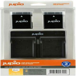 JUPIO KIT 2X EN-EL14/EL14A 1100MAH + USB DUAL CHARGER