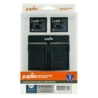 CAMERA BATTERIES AND CHARGER 2X DMW-BLG10 900MAH + USB DUAL CHARGER NEW $1RES RRP $129.95! *