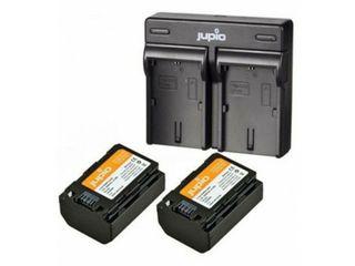 JUPIO KIT 2X NP-FZ100 2040MAH + USB DUAL CHARGER