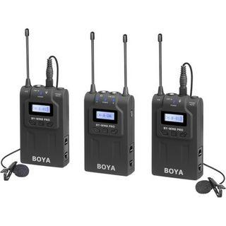 BOYA DUAL CHANNEL UHF WIRELESS KIT FOR SMARTPHONES