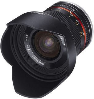 SAMYANG LENS 12MM F2.0 ED NCS CS MF BLACK PANASONIC / OLYMPUS MFT