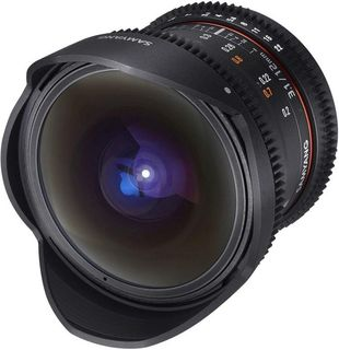 SAMYANG LENS 12MM T3.1 VDSLR FISH EYE AS MF CANON EF