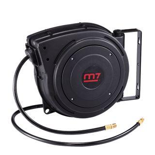 """M7 AIR COMPRESSOR RETRACTABLE  HOSE REEL 3/8"""" 10MMX15MM – 15M"""