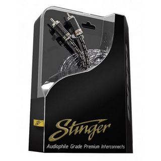 STINGER 0.5 METER OF 2-CHANNEL 9000 SERIES RCA CABLE