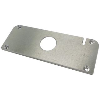 ALUMINIUM ARMOUR PLATE FRONT CASE COVER FOR AVS S/A-SERIES ALARMS