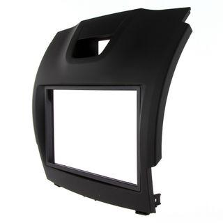 FITTING KIT ISUZU D-MAX 2012 - 2020 DOUBLE BIN (BLACK)