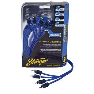 STINGER 5 METER OF 4-CHANNEL 6000 SERIES RCA CABLE