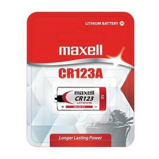 MAXELL LITHIUM BATTERY CR123A 1 PACK