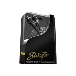 STINGER 3.6 METER OF 2-CHANNEL 9000 SERIES RCA CABLE