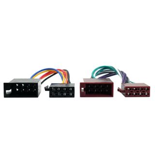 CAR STEREO HARNESS FEMALE ISO TO MALE ISO UNIVERSAL