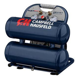 CAMPBELL HAUSFELD TWIN STACK 1HP COMPRESSOR 17L TANKS