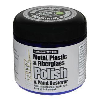 FLITZ POLISH PASTE, METAL, PLASTIC, FIBREGLASS 453GM POT