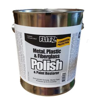 FLITZ POLISH PASTE, METAL PLASTIC FIBREGLASS 3.6KG CAN