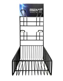 MAXELL BATTERY COUNTER STAND SMALL
