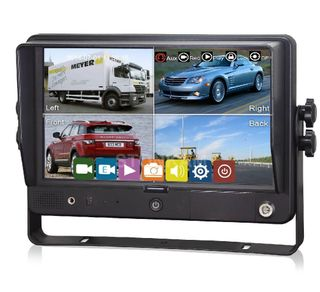 "AUTOVIEW 9"" TOUCH PANEL MONITOR WITH DVR BUILT IN"