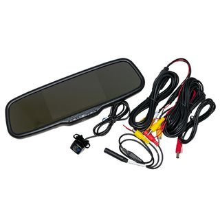 "AUTOVIEW MIRROR KIT 5"" CLIP ON WITH CAMERA"