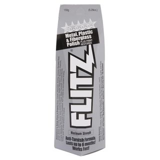 FLITZ POLISH PASTE, METAL, PLASTIC, FIBREGLASS 150GM TUBE