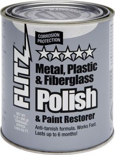FLITZ POLISH PASTE, METAL, PLASTIC, FIBREGLASS 906GM CAN