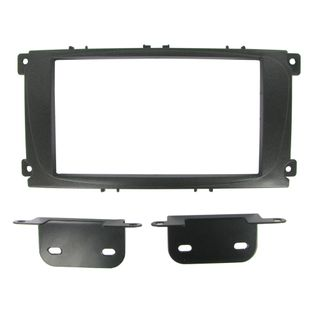 FITTING KIT FORD FOCUS, MONDEO 07 - 14 BLACK DOUBLE DIN