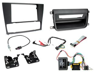 FITTING KIT BMW 3 SERIES 05 -12 D-DIN E90,91,92,93 W/OUT NAV