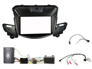 FITTING KT HOLDEN COMMODORE 2013 ON COMPLETE KIT (BLACK)
