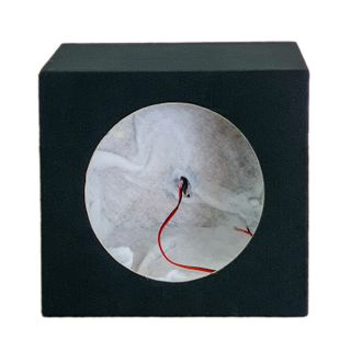 "SUBWOOFER BOX FOR 12"" SINGLE SUB BLACK"