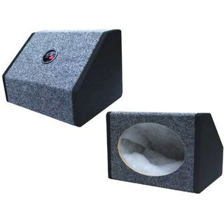 "SPEAKER BOX 6 X 9"" BLACK / GREY PAIR"