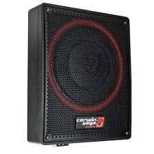 "CERWIN VEGA 12"" ACTIVE UNDER SEAT SUBWOOFER 600W"