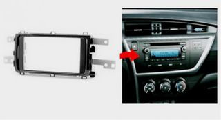 FITTING KIT TOYOTA COROLLA, AURIS 12-16 DOUBLE DIN
