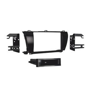 FITTING KIT COROLLA 14-16 DIN & DOUBLE DIN CHARCOL HIGHGLOSS