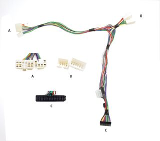 HARNESS AUDIO 2 CAR TOYOTA USE WITH MKI ONLY