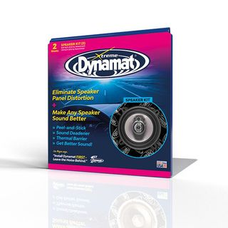 DYNAMAT XTREME SPEAKER KIT (254mm x 254mm x 1.72mm) 2 SHEETS