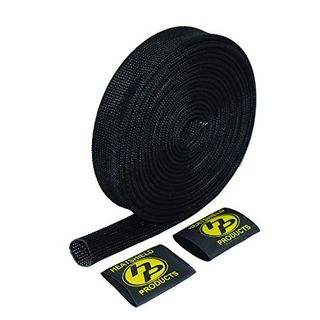 "HEATSHIELD FIRE SHIELD SLEEVING BLACK 1"" X 1M"