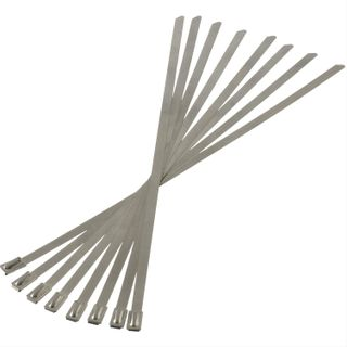 "HEATSHIELD THERMAL TIES 3/16"" X 8"" - 8 PACK - 200MM"