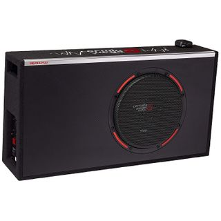 "CERWIN VEGA 12"" BOX SUBWOOFER AND AMPLIFIER ACTIVE 400W"