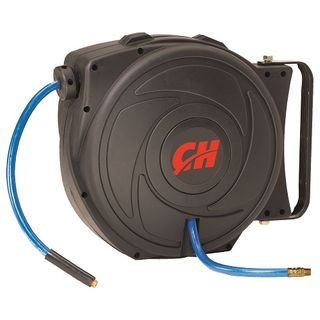 CAMPBELL HAUSFELD AIR COMPRESSOR RETRACTABLE HOSE REEL 50FT