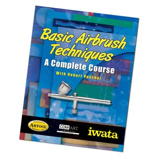 IWATA AIR BRUSH BASIC TECHNIQUES BOOK
