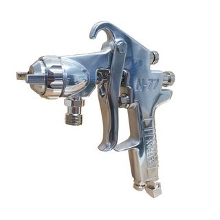 IWATA 2SPRAY SUCTION SPRAYGUN N77 2.5MM GUN ONLY