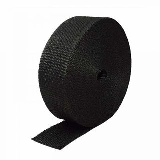 "HEATSHIELD HEADER / EXHAUST WRAP 4"" X 30M ROLL BLACK"