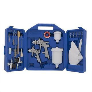 CAMPBELL HAUSFELD GRAVITY SPRAY GUN KIT 34 PC