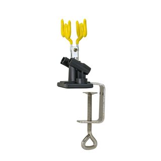 IWATA 2SPRAY AIR BRUSH HOLDER BENCH MOUNTED